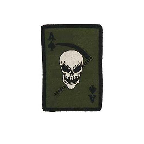 Patch Death Ace Spade Subdued