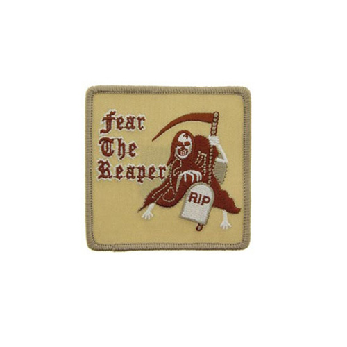 Patch Fear The Reaper Desert 3 Inch