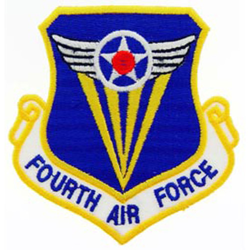 Patch-Usaf 004th Shld