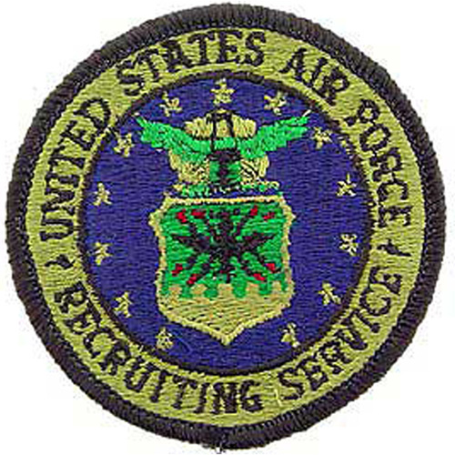 Patch-Usaf Logo Recruit.
