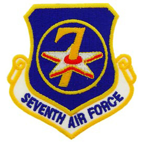 Patch-Usaf 007th Shld