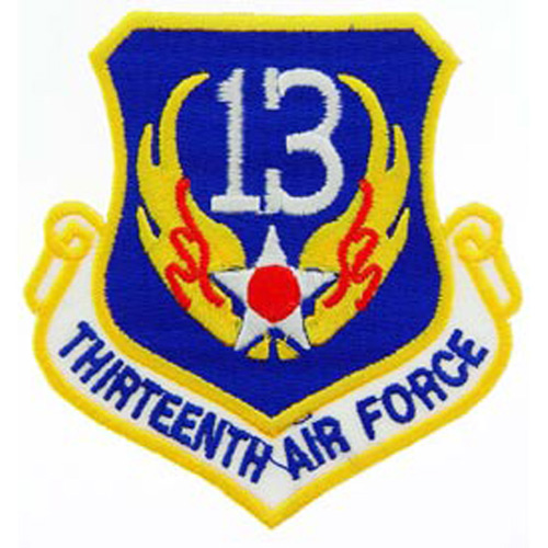 Patch-Usaf 013th Shld
