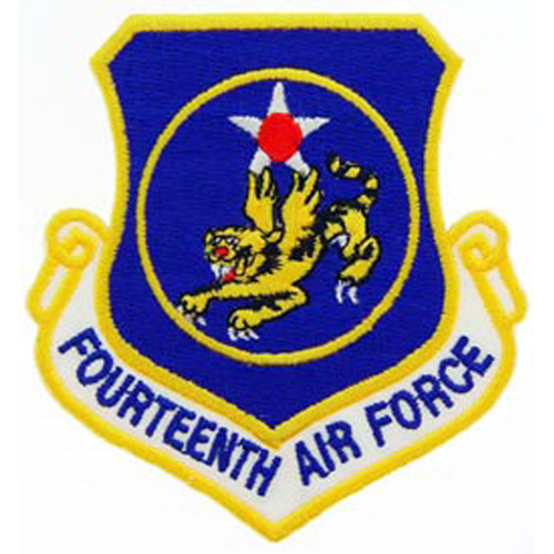 Patch-Usaf 014th Shld