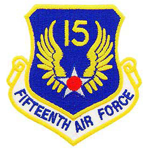 Patch-Usaf 015th Shld