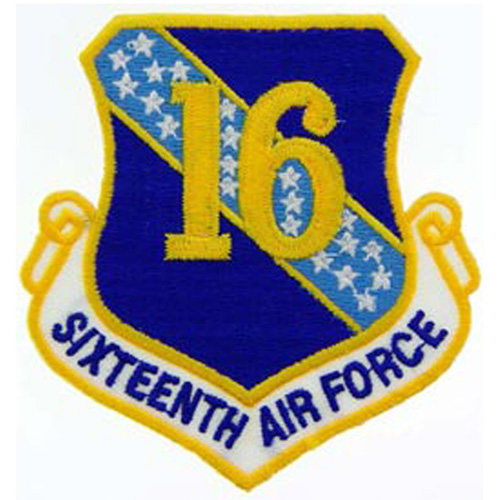 Patch-Usaf 016th Shld