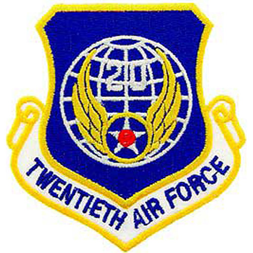 Patch-Usaf 020th Shld