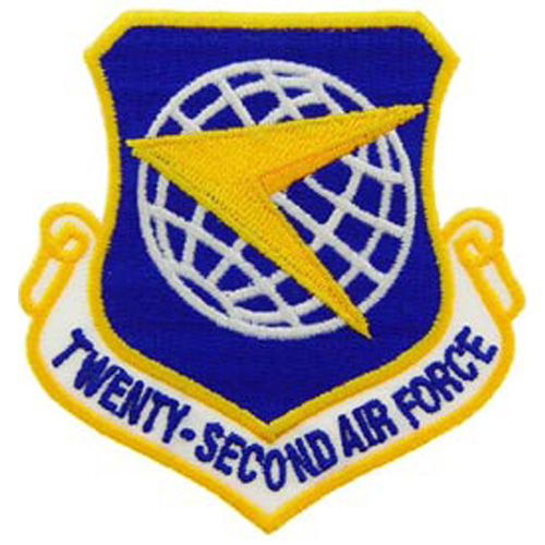 Patch-Usaf 022nd Shld