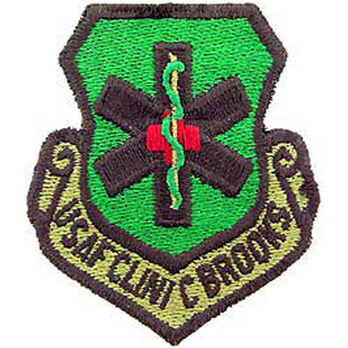 Patch-Usaf Clinic Brooks
