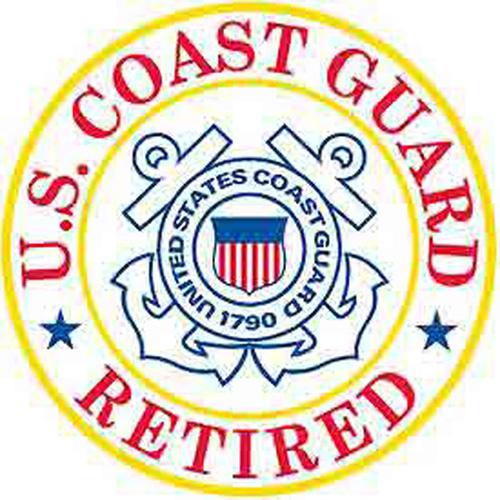 Patch-Uscg Logo Retired