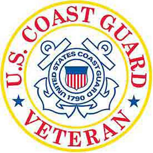 Patch-Uscg Logo Veteran