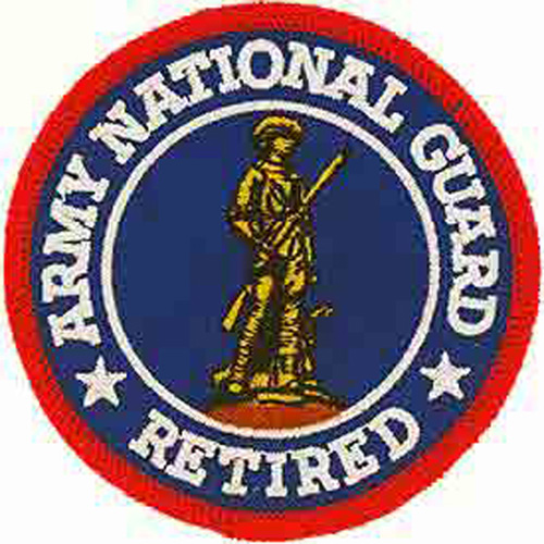 Patch-Army Nat.Gd Retired