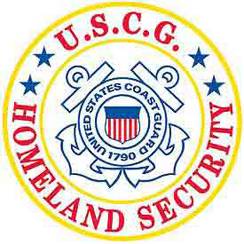 Patch-Uscg Logo Homeland