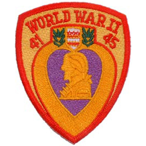 Patch-Wwii Purple Heart
