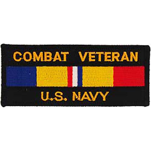 Patch-Usn Combat Veteran