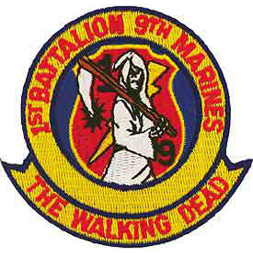 Patch-Usmc The Walking De