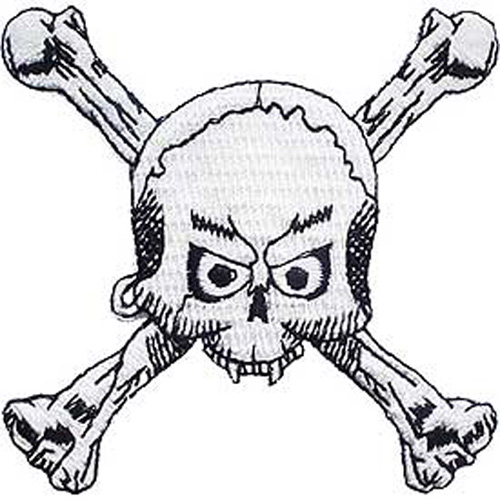 Patch-Skull And Bones