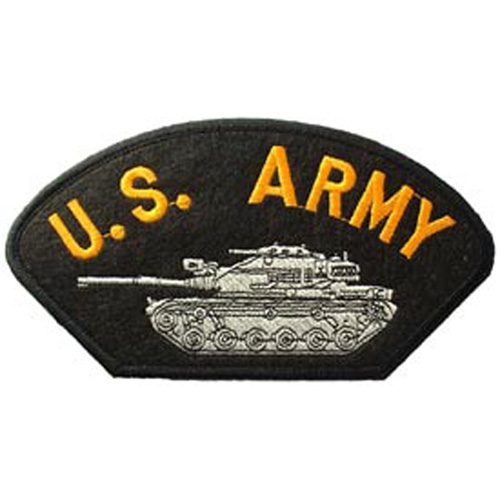 Patch-Army Hat Tank
