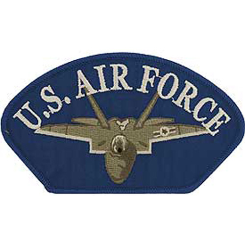 Patch-Usaf Hat Jet