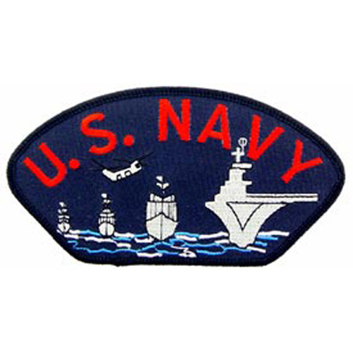 Patch-Usn Hat Ships