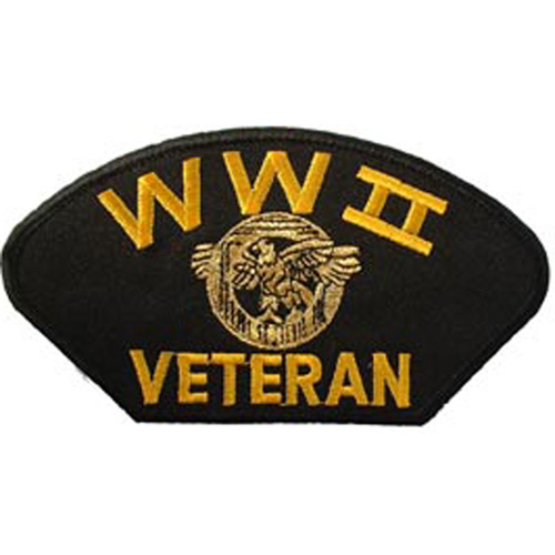 Patch-Wwii Hat Veteran