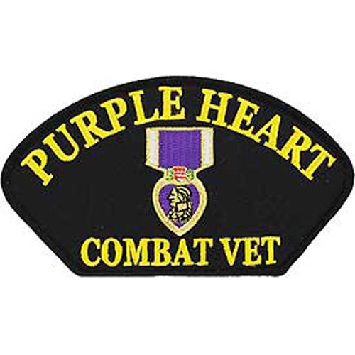 Patch-Hat Purple Heart