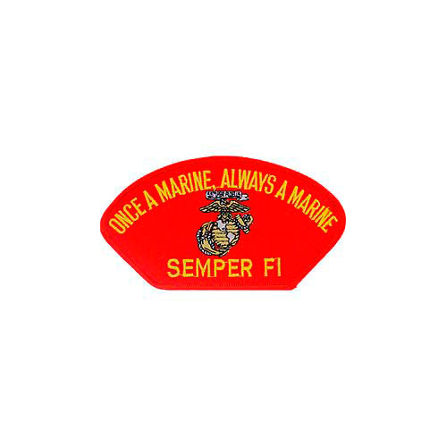 Patch-Usmc Hat Semper Fi