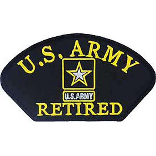 Patch-Army Hat Retired