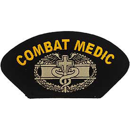 Patch-Army Hat Combat Med