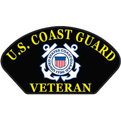 Patch-Uscg Hat Veteran