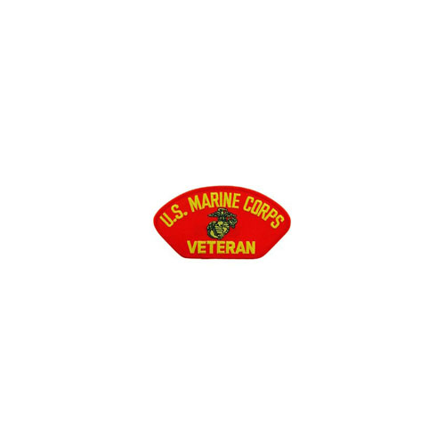 Patch USMC Hat Veteran Rd