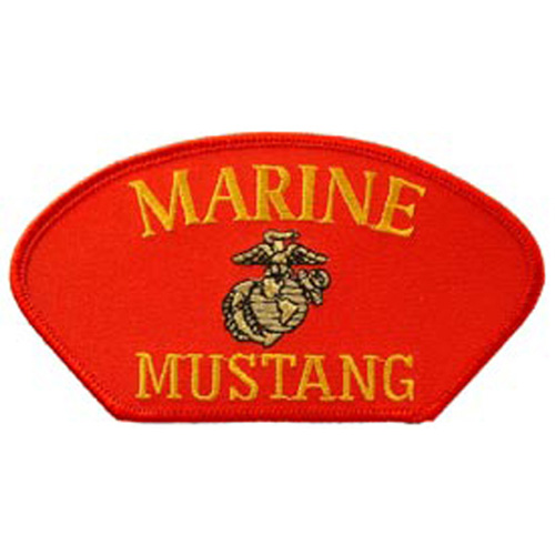 Patch-Usmc Hat Mustang Rd