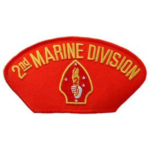 Patch-Usmc Hat 002nd Div.