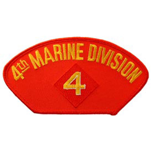 Patch-Usmc Hat 004th Div.