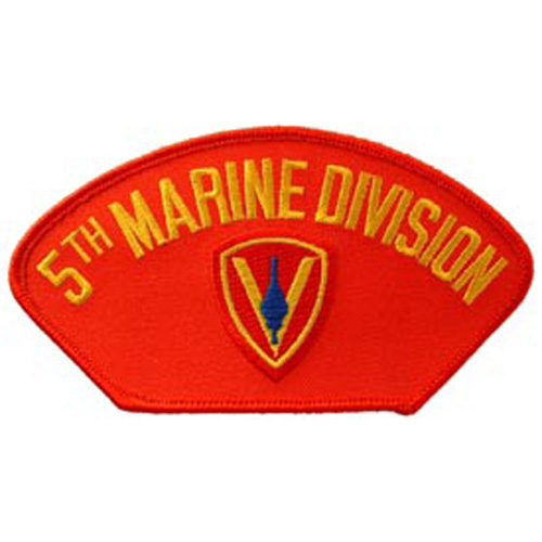 Patch-Usmc Hat 005th Div.