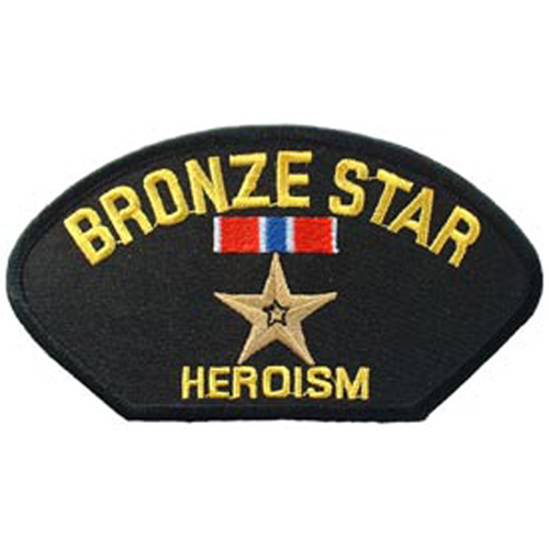 Patch-Hat Bronze Star
