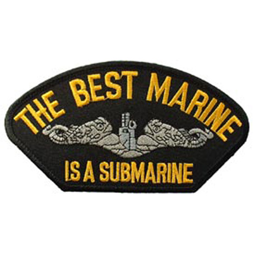Patch-Usn Hat Best Marine