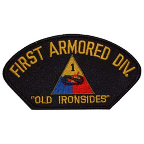 Patch-Army Hat 001st Arm
