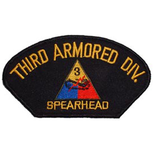 Patch-Army Hat 003rd Arm