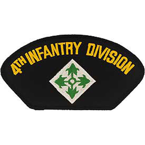 Patch-Army Hat 004th Inf