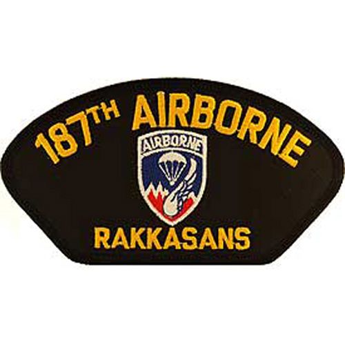 Patch-Army Hat 187th A/B