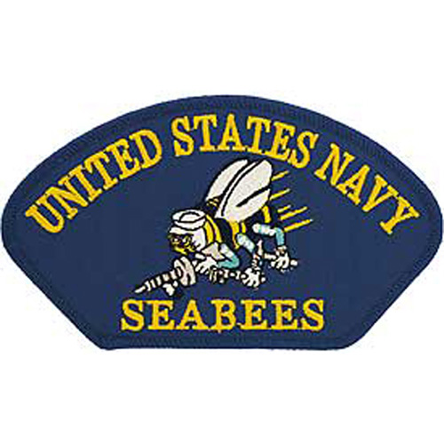 Patch-Usn Hat Seabees