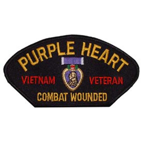 Patch-Viet Hat Purple Hrt