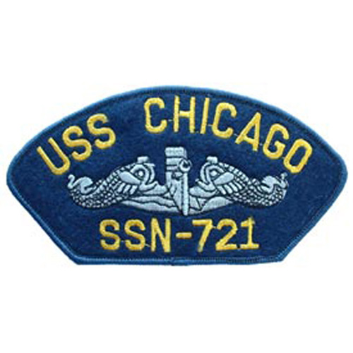 Patch-Usn Hat Uss Chicago