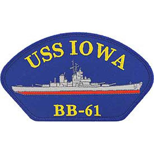 Patch-Usn Hat Uss Iowa