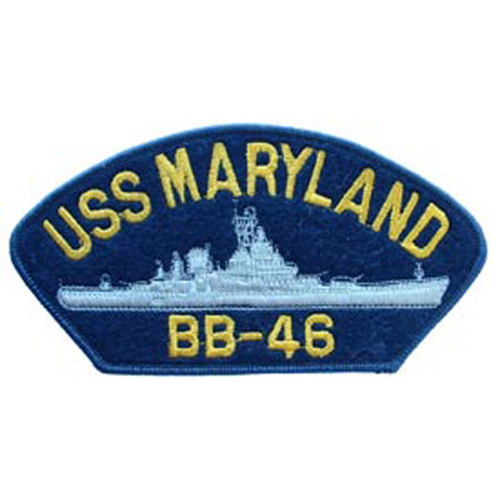 Patch-Usn Hat Uss Marylan