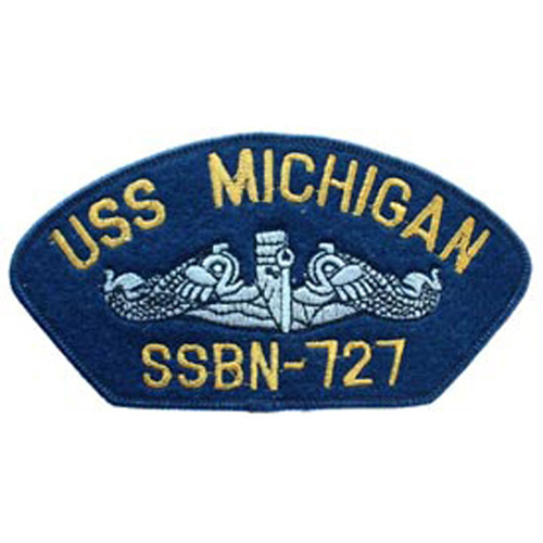 Patch-Usn Hat Uss Michiga
