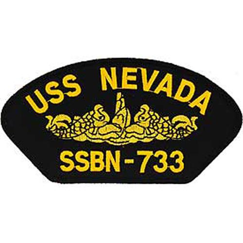Patch-Usn Hat Uss Nevada