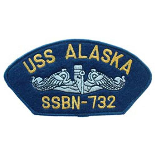 Patch-Usn Hat Uss Alaska