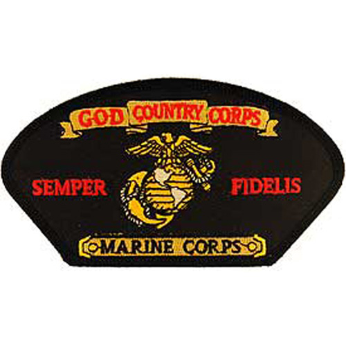 Patch-Usmc Hat Semp Fi