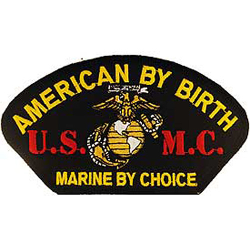 Patch-Usmc Hat By Choice